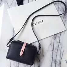 Celine Black Box On Strap Bag