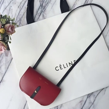Celine Red Strap Clutch Strap Palmelato Bag