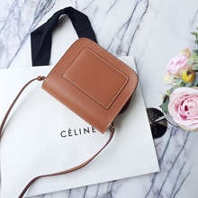 Celine Tan Tab Cross Body Bag