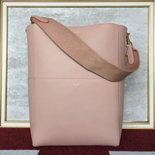 Celine Sangle Seau Bag In Nude Calfskin