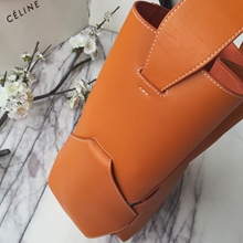 Celine Tan Large Holdall Shoulder Bag