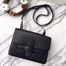 Celine Black Symmetrical Shoulder Bag