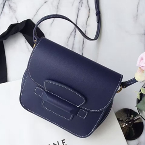 Celine Navy Tab Cross Body Bag